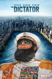 The Dictator affiche
