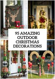 Christmas Home Decorations Pictures 95 Amazing Outdoor Christmas Decorations Christmas Pinterest