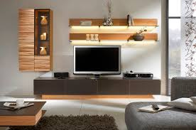 tv wall shelf wood in different styles home design and decor