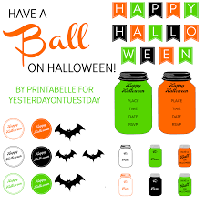 Halloween Quiz Printable by Printables Yesterday On Tuesday