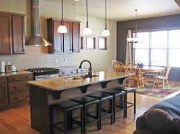 glamorous modern kitchen with teak wood base and wall kitchen