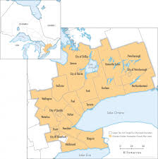 Hamilton Canada Map Context Of The Greater Golden Horseshoe Neptis Foundation