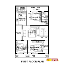 house plan for 30 feet by 50 feet plot plot size 167 square yards