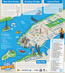 Map New York City by Large Detailed Alternative New York City Tourist Map New York