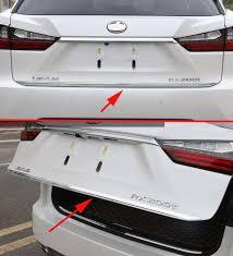 lexus rx 2016 kuwait price rear trunk cover molding trim for 2016 2017 lexus rx350 rx450h