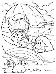 rainbow brite coloring pages intended to invigorate to color an