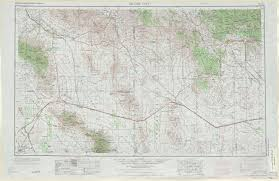 Map Of Arizona by Silver City Topographic Maps Nm Az Usgs Topo Quad 32108a1 At 1