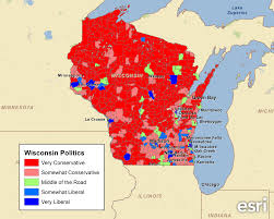 Map Of Wisconsin And Illinois by Examining Wisconsin U0027s Political Leanings U2013 Pam Allison