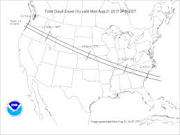 World Cloud Cover Map by How To Know Where Skies Will Be Clear For The Eclipse