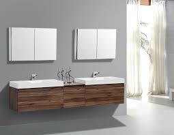 bathroom ideas stylish brown modern wall mounted wood bathroom