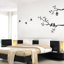 Bedroom Wall Decals Trees Birds And Branches Wall Decal