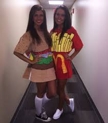 tsm burger and fries costume and mixer ideas pinterest