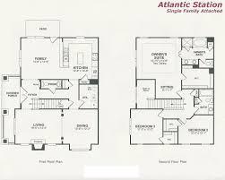 floor plan of 1st and 2nd floor
