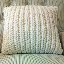 Knitted Cushions With Buttons Fisherman U0027s Rib Accent Pillow Purl Avenue