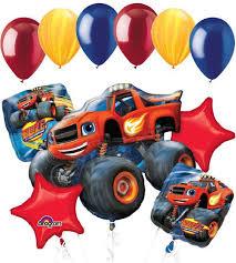 blaze u0026 monster machines balloon bouquet balloon bouquet