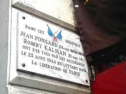 plaque jean ponsard Robert Kalman - plaque-jean-ponsard-Robert-Kalman