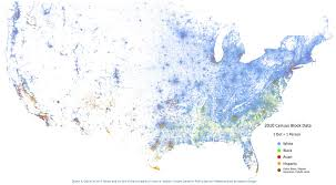 Seattle Demographics Map by How Racially Diverse Are American Cities Check These Maps Out