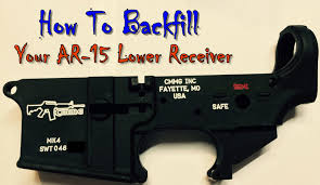 Paint Selector by Backfill An Ar 15 Receiver Markings Color Fill Youtube