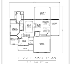 basement ranch house plans stovall park brick ranch home