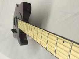 esp ltd te 200m stbc maple neck electric guitar see thru black
