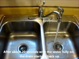 Simple Solution For How To Fix The Impossibly Slow Kitchen Sink - Kitchen sink drain vent