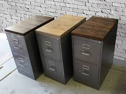 2 Drawer Oak Wood File Cabinet by Wooden File Cabinets For Sale
