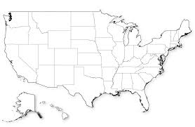 Blank Map Of The United States Of America by Blank Map Of Us In Hd