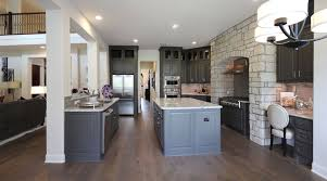 Dark Grey Cabinets Kitchen Choose Flooring That Compliments Cabinet Color Burrows Cabinets