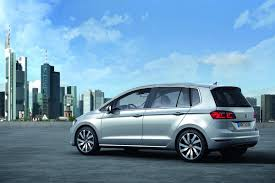 vw golf sportsvan is the new golf plus in pre production clothes