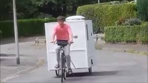mini caravane cyclotractA construction youtube