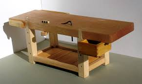 Plans For Building A Wooden Workbench by Workbench Full Chisel Blog
