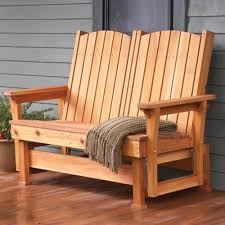 Building Outdoor Wood Furniture by Easy Breezy Glider Woodworking Plan From Wood Magazine For