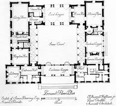 center courtyard house plans home planning ideas 2017