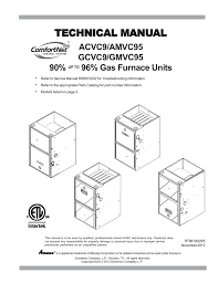 installation and service manuals for heating heat pump and air