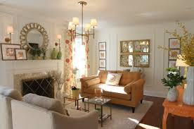 Mirror Wall Decoration Ideas Living Room Yougetcandlescom - Living room mirrors decoration