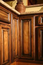 Oak Kitchen Cabinets Refinishing Refinishing Glazed Kitchen Cabinets Theydesign Net Theydesign Net