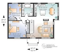 2 bedroom craftsman house plans one level house plans