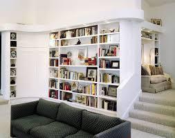 decorations great diagonal style bookshelf design idea for home