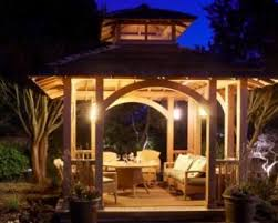 Outdoor Lighting Fixtures For Gazebos by The 25 Best Gazebo Lighting Ideas On Pinterest Porch String