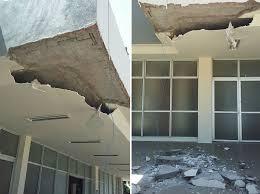 Susto após desabamento de parte do teto do Hospital Infantil de ...