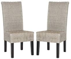 Safavieh Dining Room Chairs sea8013b set2 dining chairs furniture by safavieh