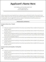 Free Military Resume Builder  resume builder military resume     Example Resume And Cover Letter