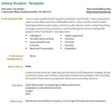 Student Resumes For First Job by Download My First Resume Haadyaooverbayresort Com