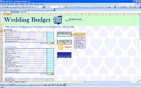 Sample Home Budget Spreadsheet 15 Useful Wedding Spreadsheets Excel Spreadsheet