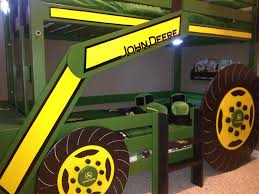 Plans For Building Bunk Beds by Ana White John Deere Tractor Bunk Bed Diy Projects
