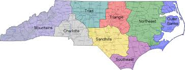 Charlotte Usa Map by Why North Carolina Is Turning Blue A Look At The State U0027s