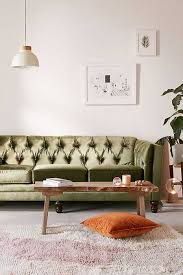 Ava Velvet Tufted Sleeper Sofa by Apartment Sofas Couches Urban Outfitters