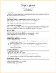 No Experience Resume Examples  job experience resume examples high     happytom co