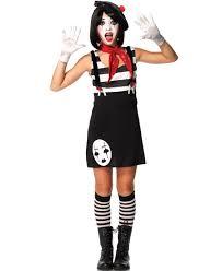 miss mime teen girls halloween costume leg avenue j49073 ebay