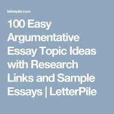 H buy argumentative essay topics